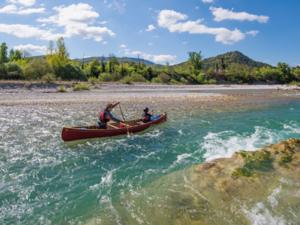 descente de la drome en canoe