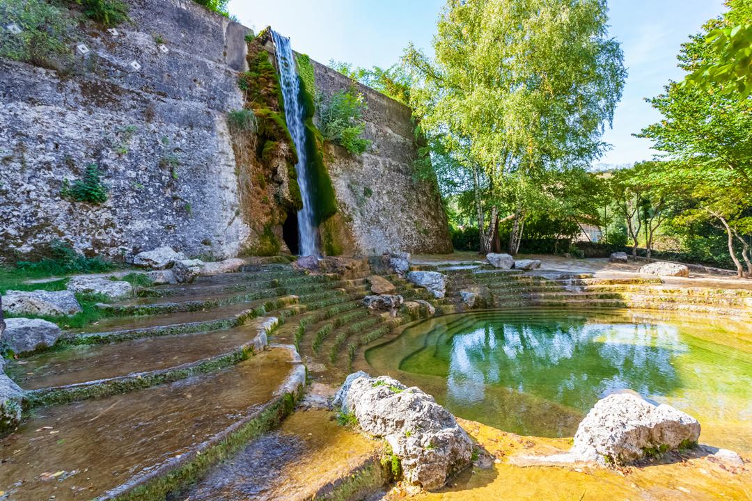 Bassins du Musée de l'eau à Pont-en-Royans